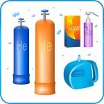 Гелий, оборудование и аксессуары