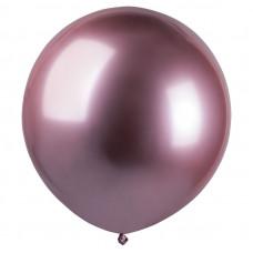 Хром Розовый 91, Металл / Shiny Pink 91