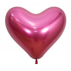 Сердце Рефлекс, Фуксия, (Зеркальные шары) / Reflex Fuchsia