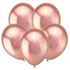 Розовое золото, Зеркальные шары / Mirror Rose Gold