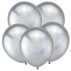 Серебро, Зеркальные шары / Mirror Silver