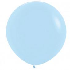 Нежно-голубой, Пастель Матовый (Макаронс) / Blue