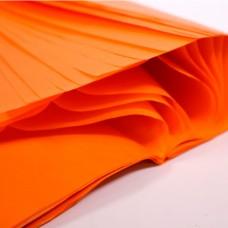 Бумага упаковочная тишью Оранжевая / листы