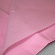 Бумага упаковочная тишью Розовая / листы
