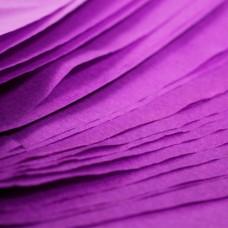 Бумага упаковочная тишью Фиолетовая / листы