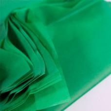 Бумага упаковочная тишью Зеленая / листы