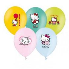 """Хелло Китти / Hello Kitty Набор шаров рис 14"""""""