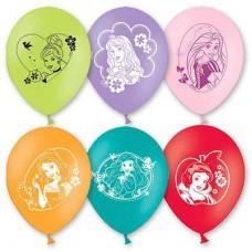 """Принцессы Disney Шар с рисунком 12"""""""