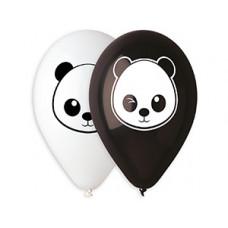 """Панда Шар 14"""" с рисунком / Panda"""
