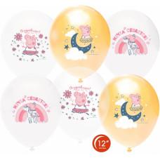 Свинка Пеппа Принцесса-Волшебница пастель ассотри (25шт) Series