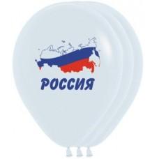Россия Триколор, Белый Пастель, 2 ст.