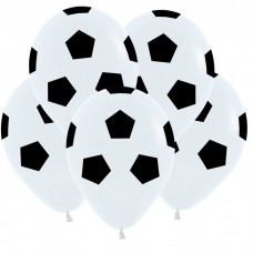 Футбольный мяч, Белый Пастель