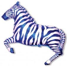 Зебра (синяя) / Zebra