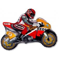 Мотоцикл (оранжевый) / Motor bike Series