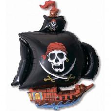 Пиратский корабль (чёрный) / Pirate Ship