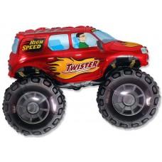 Большой внедорожник (красный) / Big wheel