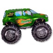 Большой внедорожник (зелёный) / Big wheel