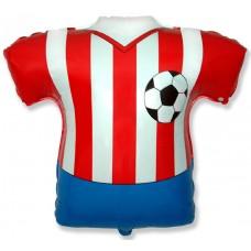 Футболка красно-белая / Footbal Shirt Series