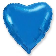 Сердце Синий / Heart Blue Flex Metal