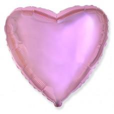 Сердце Розовый нежный / Light Pink Flex Metal