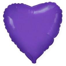 Сердце Фиолетовый / Heart Violet Flex Metal