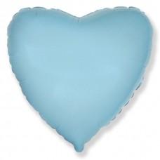Сердце Светло-голубой / Heart Baby blue
