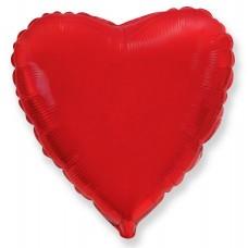 Сердце Красный / Heart Red Flex Metal