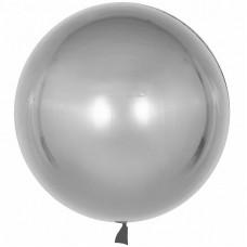 Сфера 3D Хром Серебро в упаковке