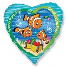 Сердце СДР рыбки-клоуна
