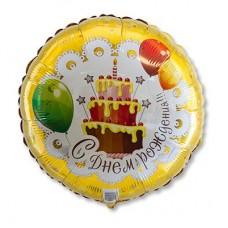 """Торт C Днем рождения 18"""""""