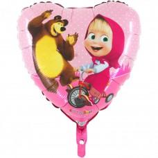 Маша и Медведь в сердце