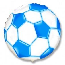 Футбольный мяч (синий) / Soccer Ball Flex Metal