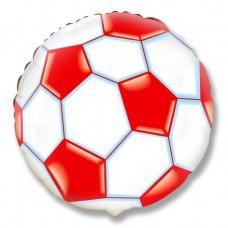 Футбольный мяч (красный) / Soccer Ball Flex Metal