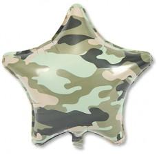 Камуфляж зеленый звезда
