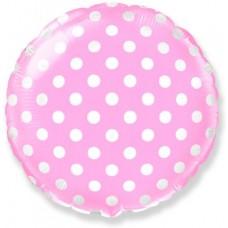 Горох (Розовый) / Dots Pink Flex Metal