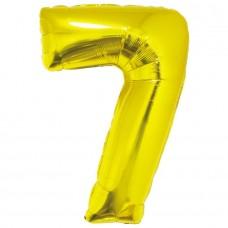 """Цифра """"7"""" золото в упаковке / Seven"""