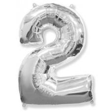 """K """"2"""" Цифр серебро / Two"""