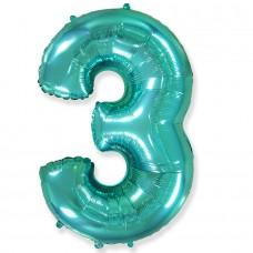 """F """"3"""" Цифра тиффани / Three"""
