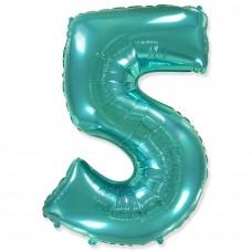 """Цифра """"5"""" тиффани / Five"""