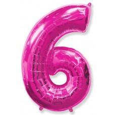 """F """"6"""" Цифра фуксия / Six"""