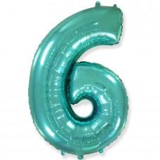 "Цифра ""6"" тиффани / Six"