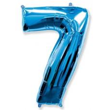 "F ""7"" Цифра синий / Seven"