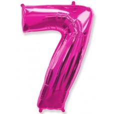 """F """"7"""" Цифра фуксия / Seven"""