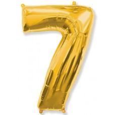 """F """"7"""" Цифра золото / Seven"""
