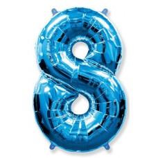 """F """"8"""" Цифра синий / Eight"""