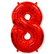 "Цифра ""8"" красный / Eight"