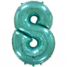 """Цифра """"8"""" тиффани / Eight"""