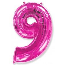 """F """"9"""" Цифра фуксия / Nine"""