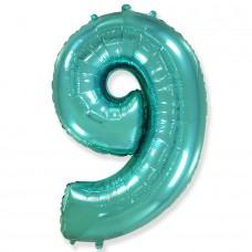 """Цифра """"9"""" тиффани / Nine"""