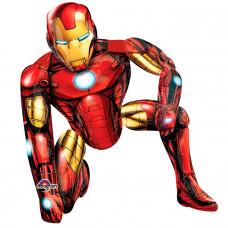 Ходячая фигура Железный человек в упаковке / Iron Man AWK P93